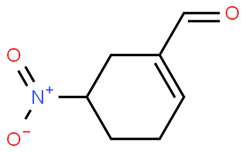 5-Nitro-1-cyclohexene-1-carboxaldehyde