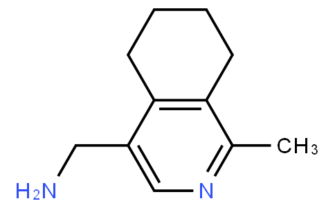 4-(aminomethyl)-1-methyl-5,6,7,8-tetrahydroisoquinolin-