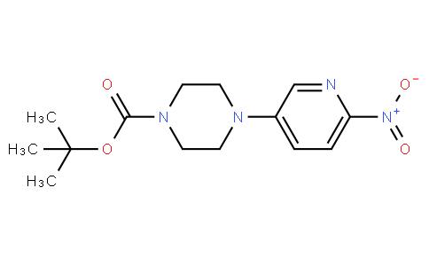 4-(6-nitro-pyridin-3-yl)-piperazine-1-carboxylic acid tert-butyl ester