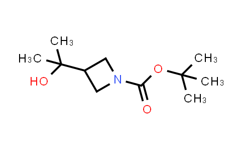 tert-butyl 3-(2-hydroxypropan-2-yl)azetidine-1-carboxylate