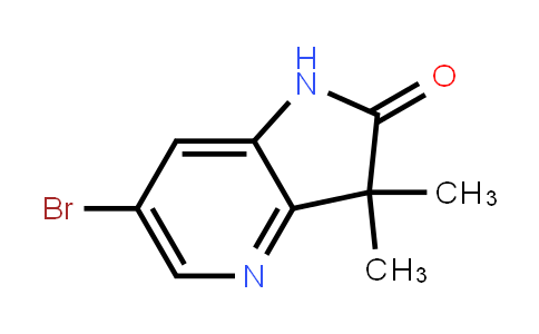 6-Bromo-3,3-dimethyl-1h-pyrrolo[3,2-b]pyridin-2(3h)-one