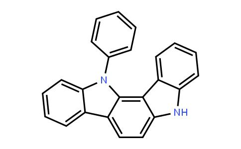 Indolo[3,2-a]carbazole, 5,12-dihydro-12-phenyl-