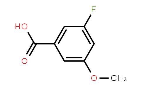 3-Fluoro-5-methoxybenzoic acid