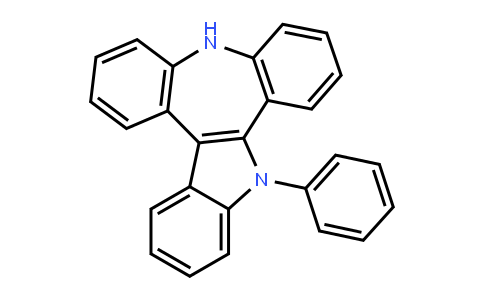 Benz[b]indolo[2,3-d][1]benzazepine, 5,10-dihydro-5-phenyl-