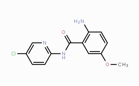 N-(5-氯-2-吡啶)-5-甲氧基-2-氨基苯甲酰胺