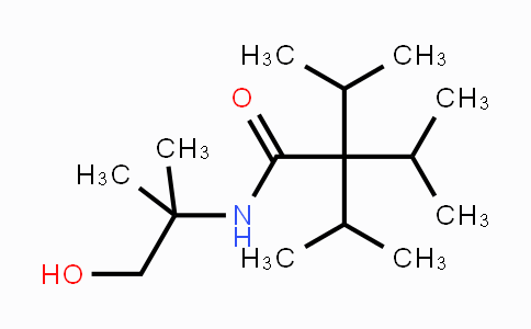 N-(1-Hydroxy-2-methylpropan-2-yl)-3-methyl-2,2-di(propan-2-yl)butanamide