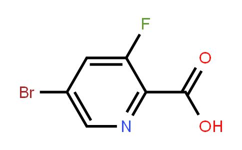 5-溴-3-氟吡啶-2-羧酸