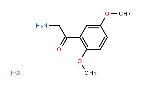 2-Amino-1-(2,5-dimethoxyphenyl)-ethanone HCl