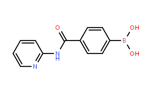 [4-[(Pyridin-2-yl)carbamoyl]phenyl]boronic acid