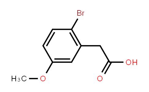 2-(2-Bromo-5-methoxyphenyl)acetic acid
