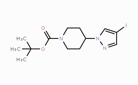 1-Boc-4-(4-iodo-1h-pyrazol-1-yl)piperidine