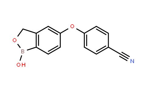 4-[(1,3-二氢-1-羟基-2,1-苯并氧杂硼杂环戊烷-5-基)氧基]苯甲腈