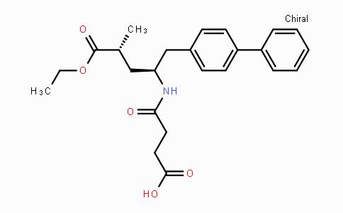 (2R,4s)-5-(biphenyl-4-yl)-4-[(3-carboxypropionyl)amino]-2-methylpentanoic acid ethyl ester